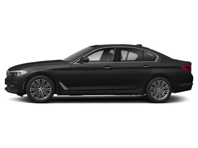 Jet Black 2018 BMW 5 Series Pictures 5 Series 540d xDrive Sedan photos side view