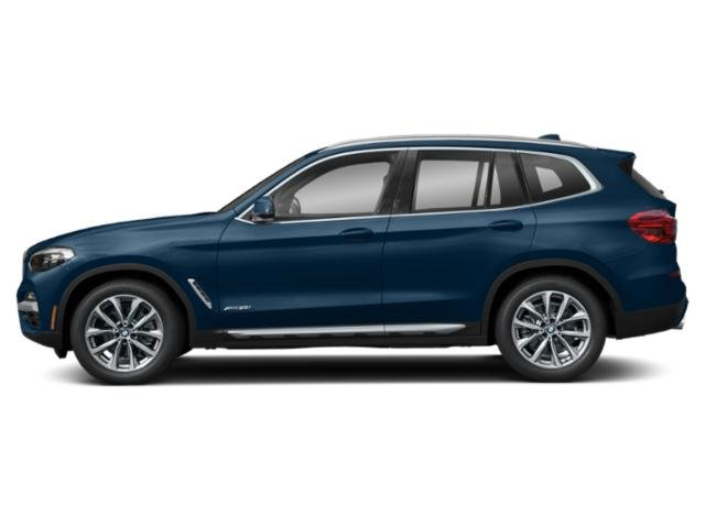 Phytonic Blue Metallic 2018 BMW X3 Pictures X3 Utility 4D M40i AWD photos side view