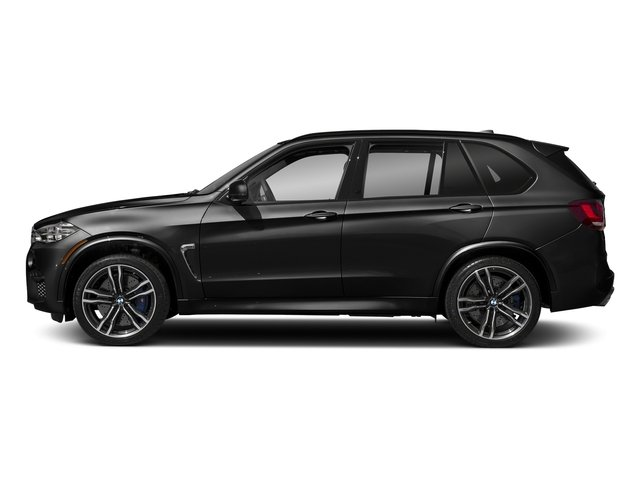 Black Sapphire Metallic 2018 BMW X5 M Pictures X5 M Utility 4D M AWD photos side view