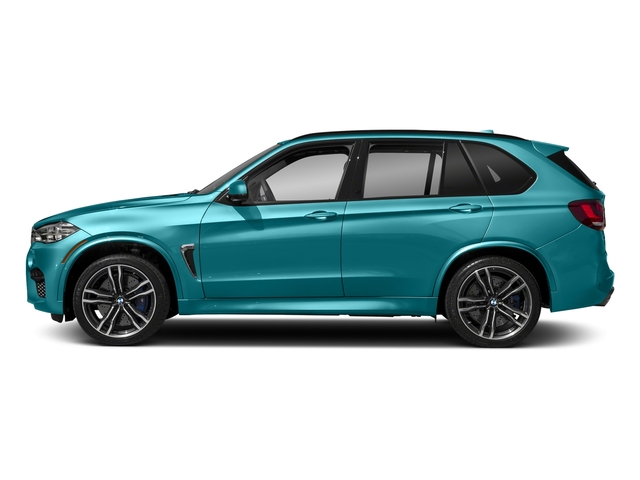 Long Beach Blue Metallic 2018 BMW X5 M Pictures X5 M Utility 4D M AWD photos side view
