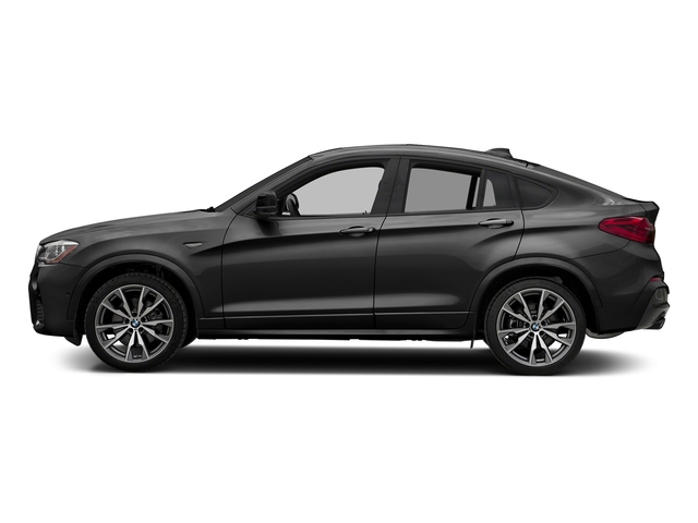Dark Graphite Metallic 2018 BMW X4 Pictures X4 M40i Sports Activity Coupe photos side view