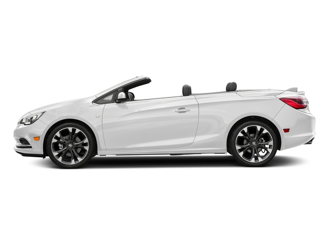 Summit White 2018 Buick Cascada Pictures Cascada 2dr Conv Sport Touring photos side view
