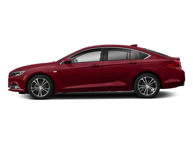 Rioja Red Metallic 2018 Buick Regal Sportback Pictures Regal Sportback 4dr Sdn Preferred II AWD photos side view