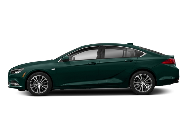 Carrageen Metallic 2018 Buick Regal Sportback Pictures Regal Sportback 4dr Sdn Preferred II AWD photos side view