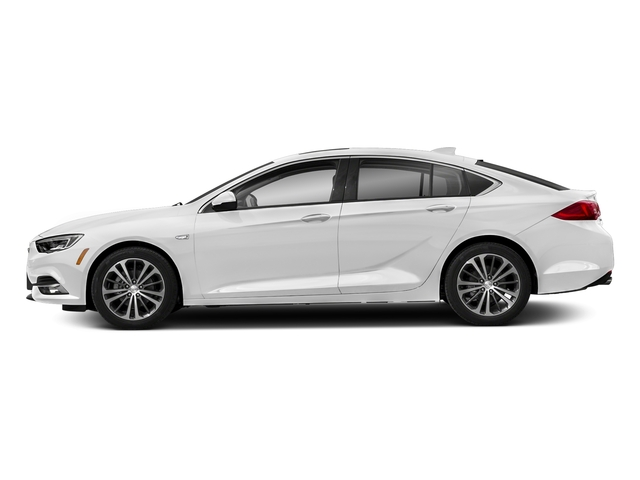 Summit White 2018 Buick Regal Sportback Pictures Regal Sportback 4dr Sdn Preferred II FWD photos side view