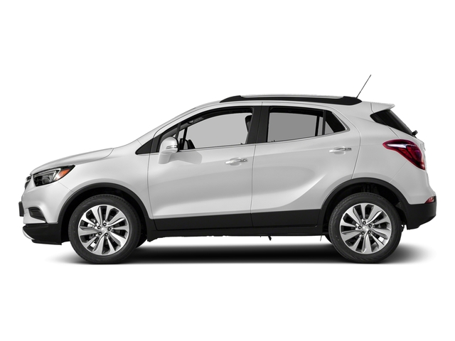Summit White 2018 Buick Encore Pictures Encore FWD 4dr photos side view