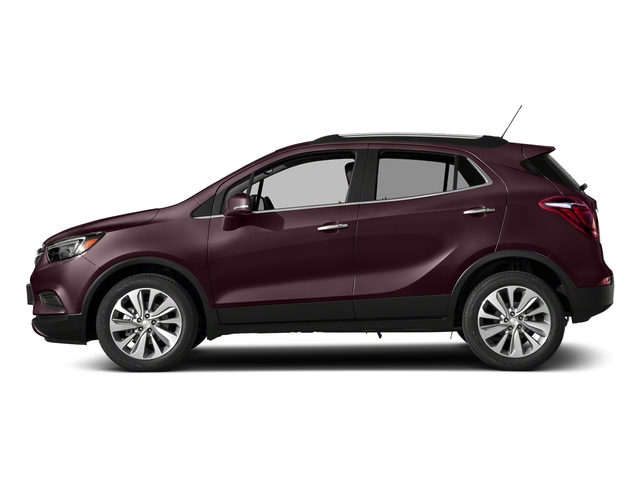 Black Cherry Metallic 2018 Buick Encore Pictures Encore AWD 4dr Sport Touring photos side view