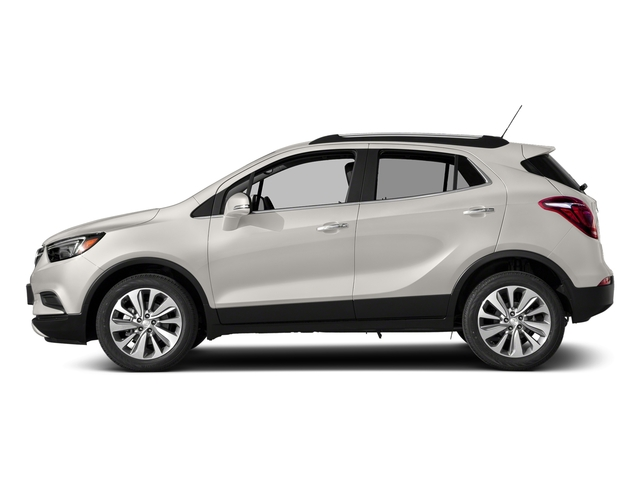 White Frost Tricoat 2018 Buick Encore Pictures Encore AWD 4dr Sport Touring photos side view