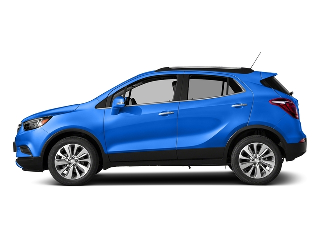 Coastal Blue Metallic 2018 Buick Encore Pictures Encore FWD 4dr photos side view