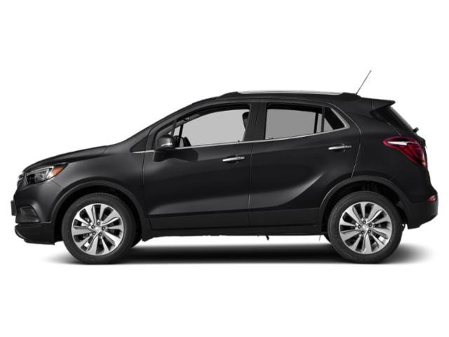 Ebony Twilight Metallic 2018 Buick Encore Pictures Encore Utility 4D Preferred II 2WD I4 Turbo photos side view