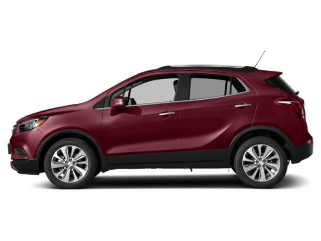 Winterberry Red Metallic 2018 Buick Encore Pictures Encore Utility 4D Preferred II 2WD I4 Turbo photos side view