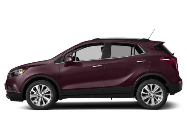 Black Cherry Metallic 2018 Buick Encore Pictures Encore Utility 4D Preferred II 2WD I4 Turbo photos side view