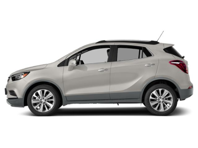 White Frost Tricoat 2018 Buick Encore Pictures Encore Utility 4D Preferred II 2WD I4 Turbo photos side view