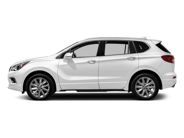 Summit White 2018 Buick Envision Pictures Envision AWD 4dr Premium II photos side view