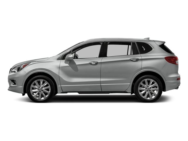 Galaxy Silver Metallic 2018 Buick Envision Pictures Envision AWD 4dr Premium II photos side view