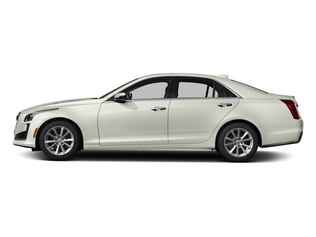 Crystal White Tricoat 2018 Cadillac CTS Sedan Pictures CTS Sedan 4D Luxury AWD V6 photos side view