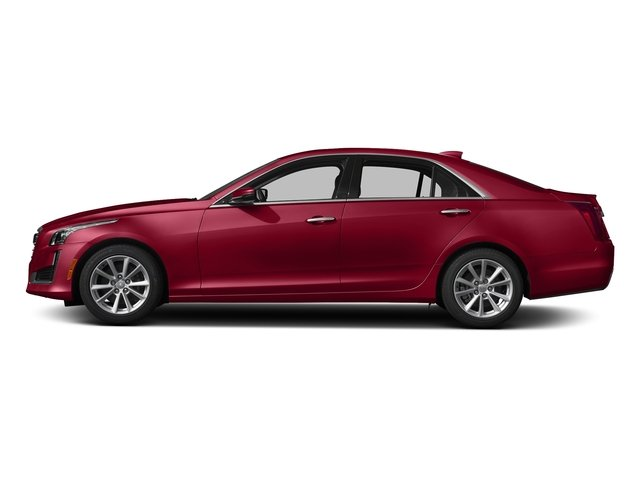 Red Obsession Tintcoat 2018 Cadillac CTS Sedan Pictures CTS Sedan 4D Luxury AWD V6 photos side view