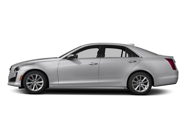 Radiant Silver Metallic 2018 Cadillac CTS Sedan Pictures CTS Sedan 4D Luxury AWD V6 photos side view