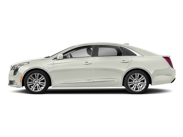 Crystal White Tricoat 2018 Cadillac XTS Pictures XTS Sedan 4D Luxury V6 photos side view