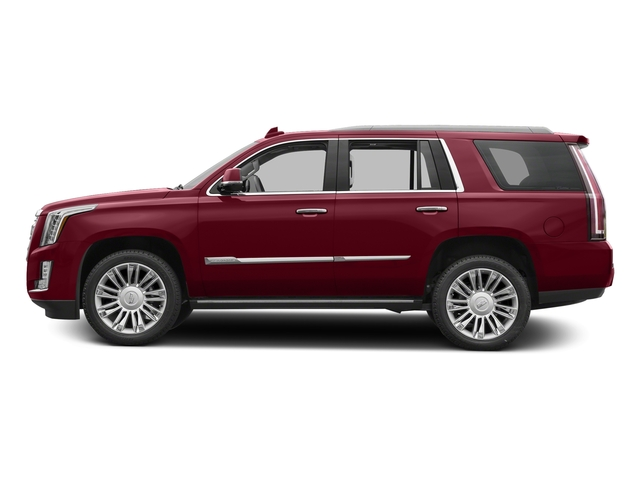 Red Passion Tintcoat 2018 Cadillac Escalade Pictures Escalade Utility 4D Platinum 4WD V8 photos side view