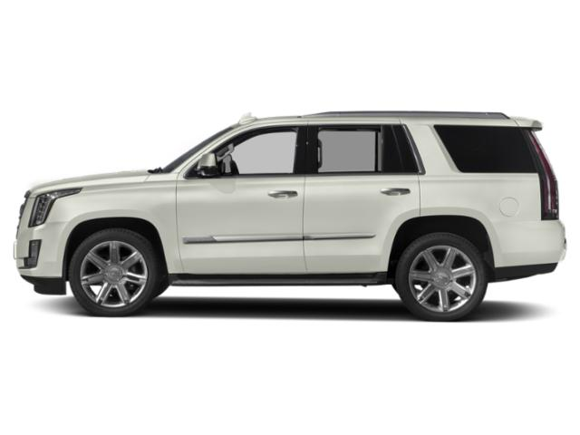 Crystal White Tricoat 2018 Cadillac Escalade Pictures Escalade Utility 4D Luxury 2WD V8 photos side view