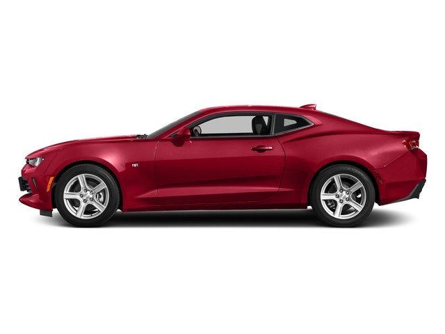 Red Hot 2018 Chevrolet Camaro Pictures Camaro 2dr Cpe LT w/2LT photos side view