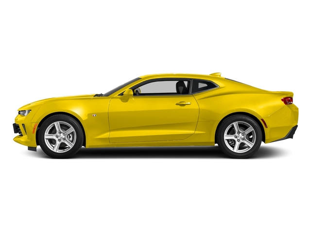Bright Yellow 2018 Chevrolet Camaro Pictures Camaro 2dr Cpe LT w/2LT photos side view