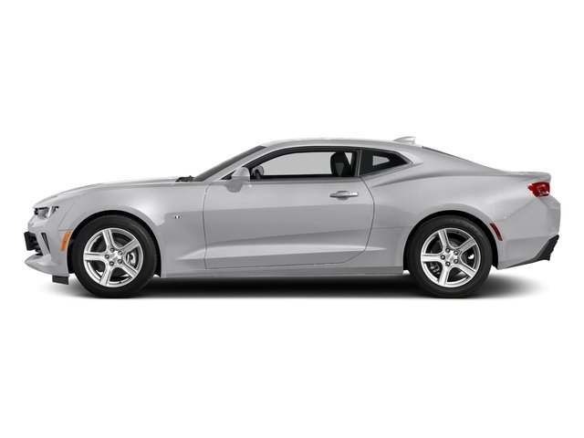 Silver Ice Metallic 2018 Chevrolet Camaro Pictures Camaro 2dr Cpe LT w/2LT photos side view