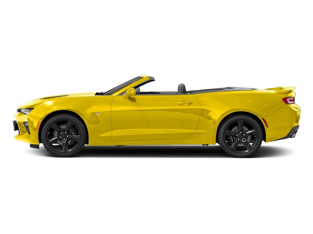 Bright Yellow 2018 Chevrolet Camaro Pictures Camaro 2dr Conv SS w/2SS photos side view