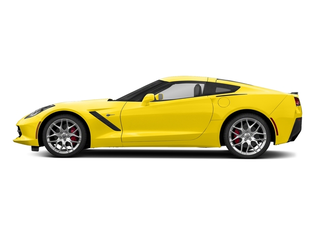 Corvette Racing Yellow Tintcoat 2018 Chevrolet Corvette Pictures Corvette 2dr Stingray Cpe w/2LT photos side view