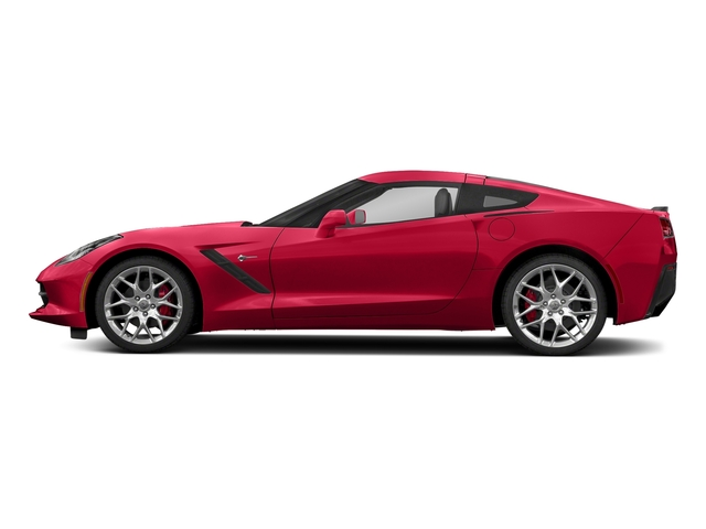 Torch Red 2018 Chevrolet Corvette Pictures Corvette 2dr Stingray Cpe w/2LT photos side view