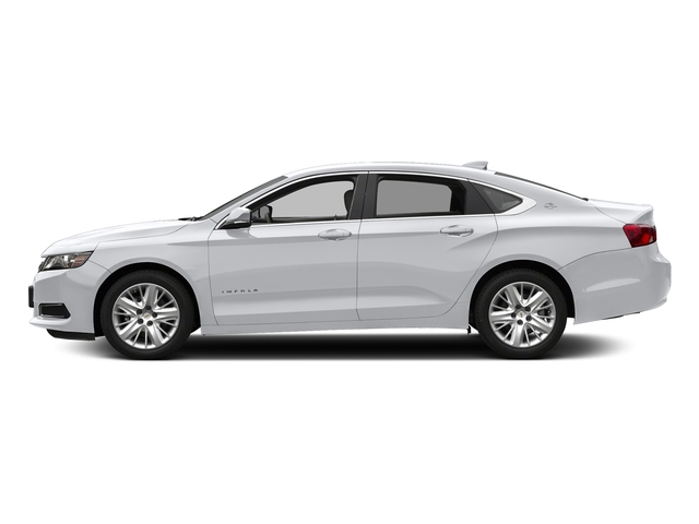 Silver Ice Metallic 2018 Chevrolet Impala Pictures Impala 4dr Sdn LS w/1FL photos side view