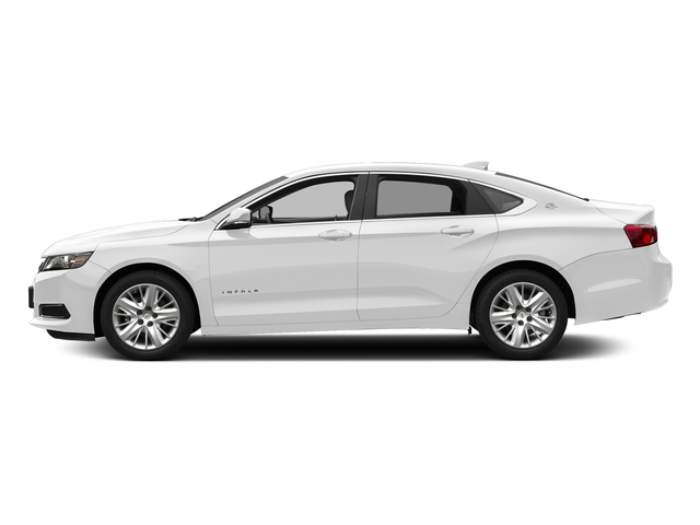 Summit White 2018 Chevrolet Impala Pictures Impala 4dr Sdn LS w/1FL photos side view