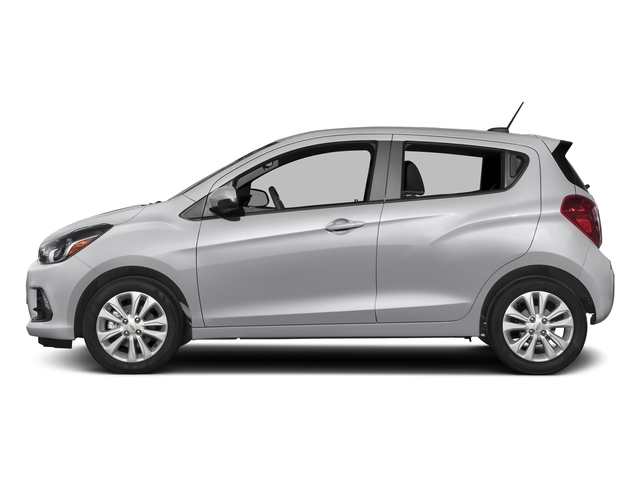 Silver Ice 2018 Chevrolet Spark Pictures Spark 5dr HB Man LT w/1LT photos side view