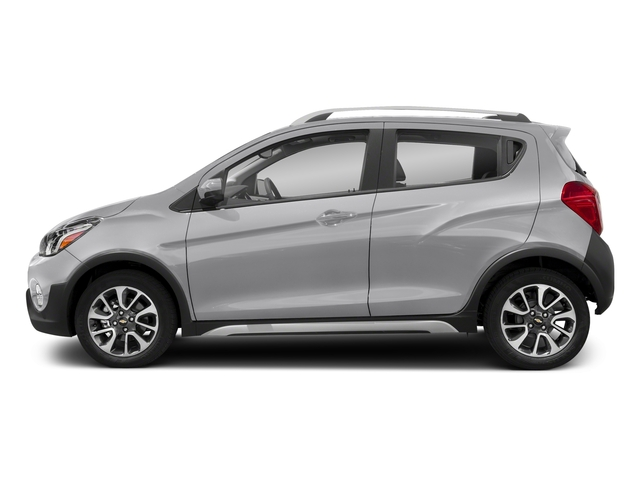 Silver Ice 2018 Chevrolet Spark Pictures Spark 5dr HB Man ACTIV photos side view