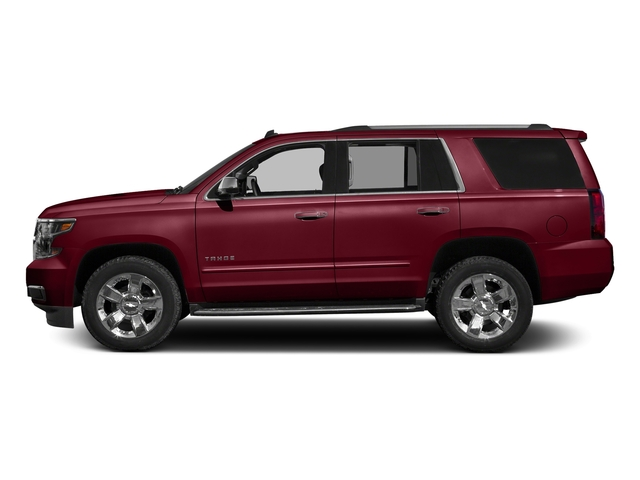 Siren Red Tintcoat 2018 Chevrolet Tahoe Pictures Tahoe 2WD 4dr Commercial photos side view