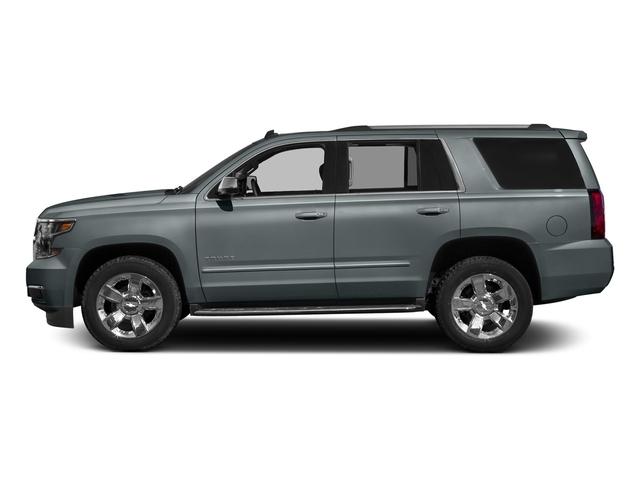 Satin Steel Metallic 2018 Chevrolet Tahoe Pictures Tahoe 2WD 4dr Commercial photos side view