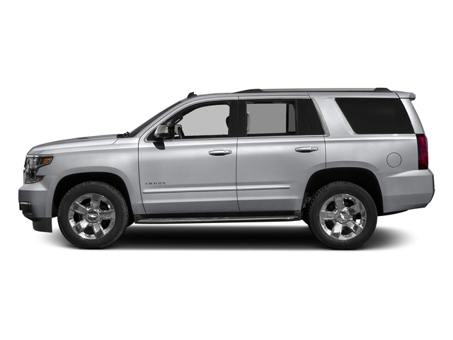 Silver Ice Metallic 2018 Chevrolet Tahoe Pictures Tahoe 2WD 4dr Commercial photos side view