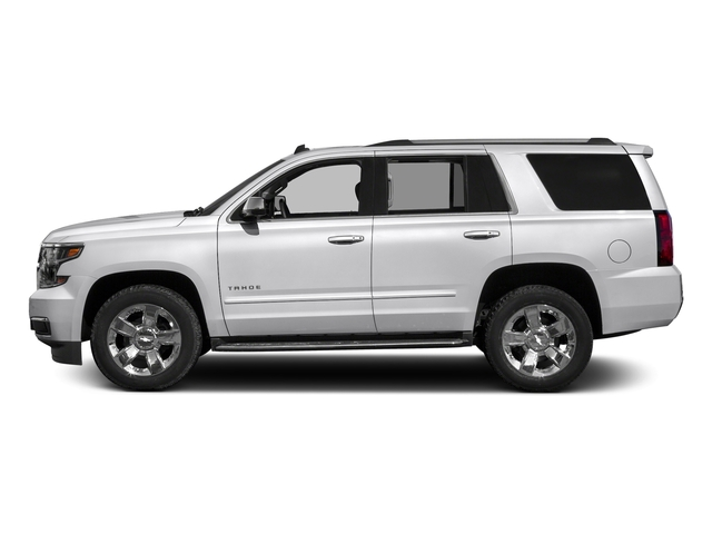 Summit White 2018 Chevrolet Tahoe Pictures Tahoe 2WD 4dr Commercial photos side view