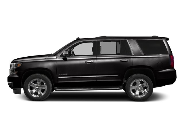 Black 2018 Chevrolet Tahoe Pictures Tahoe 2WD 4dr Commercial photos side view