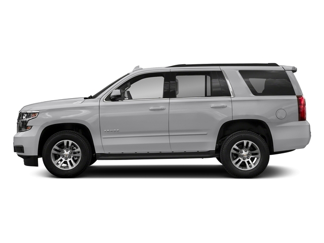 Silver Ice Metallic 2018 Chevrolet Tahoe Pictures Tahoe 2WD 4dr LT photos side view