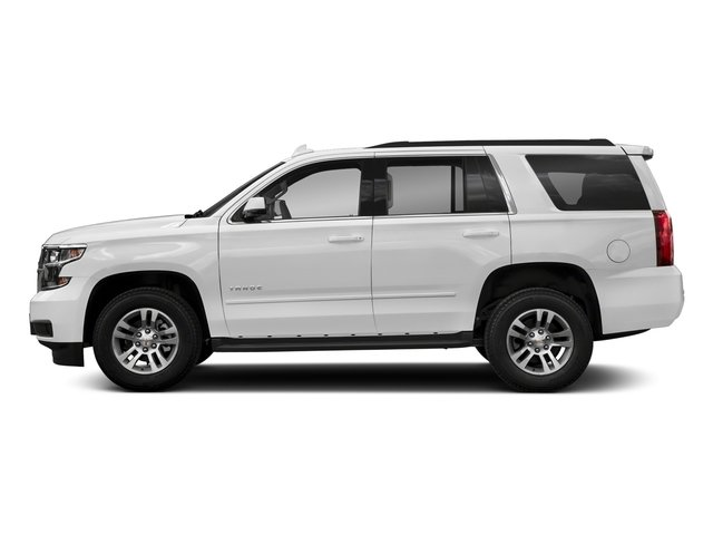Summit White 2018 Chevrolet Tahoe Pictures Tahoe 2WD 4dr LT photos side view