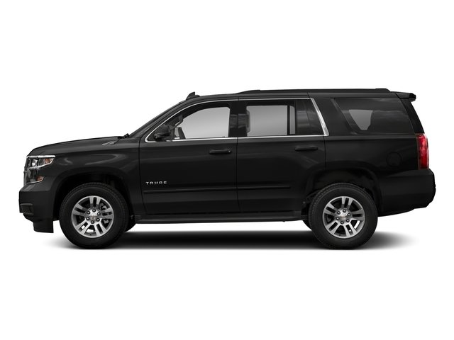 Black 2018 Chevrolet Tahoe Pictures Tahoe 2WD 4dr LT photos side view