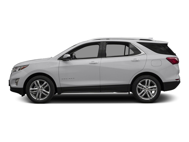 Silver Ice Metallic 2018 Chevrolet Equinox Pictures Equinox FWD 4dr Premier w/1LZ photos side view