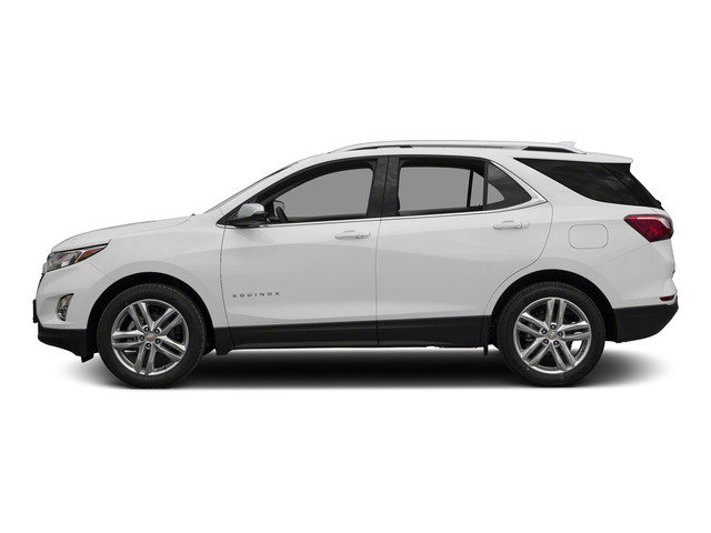 Summit White 2018 Chevrolet Equinox Pictures Equinox FWD 4dr Premier w/1LZ photos side view