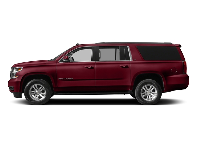 Siren Red Tintcoat 2018 Chevrolet Suburban Pictures Suburban 4WD 4dr 1500 LT photos side view