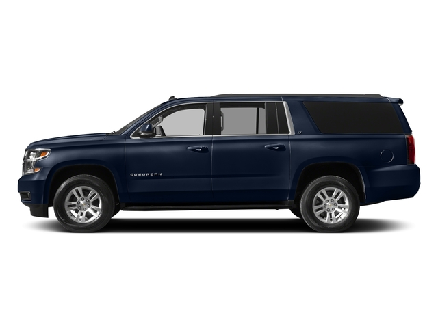 Blue Velvet Metallic 2018 Chevrolet Suburban Pictures Suburban 4WD 4dr 1500 LT photos side view