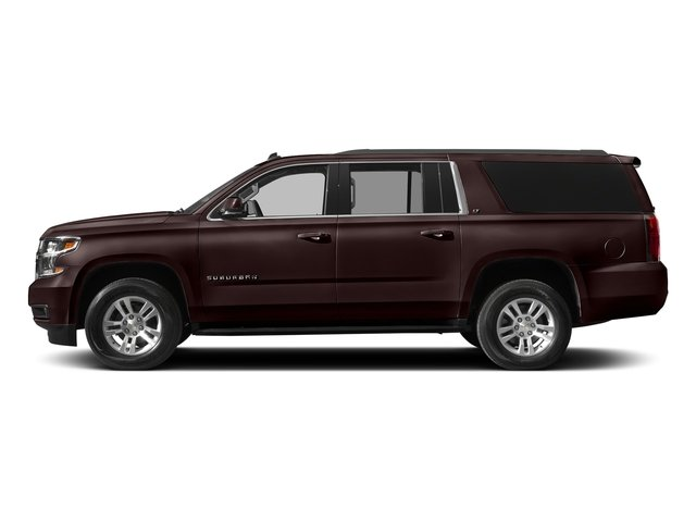 Havana Metallic 2018 Chevrolet Suburban Pictures Suburban 4WD 4dr 1500 LT photos side view