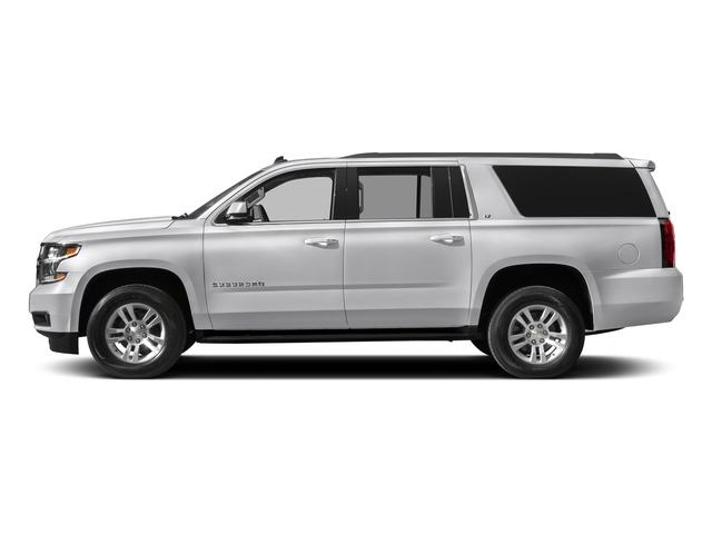 Summit White 2018 Chevrolet Suburban Pictures Suburban 4WD 4dr 1500 LT photos side view