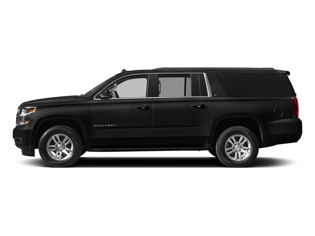 Black 2018 Chevrolet Suburban Pictures Suburban 4WD 4dr 1500 LT photos side view